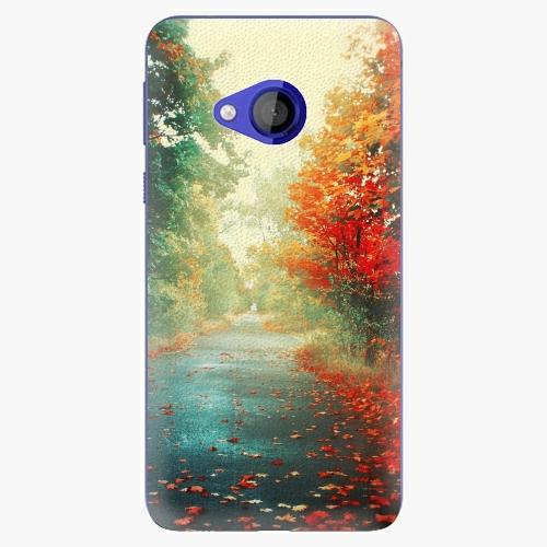 Plastový kryt iSaprio - Autumn 03 - HTC U Play