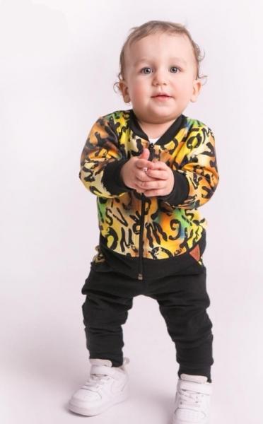 g-baby-stylova-bavlnena-teplakova-souprava-pismenka-zluta-cerna-vel-80-80-9-12m
