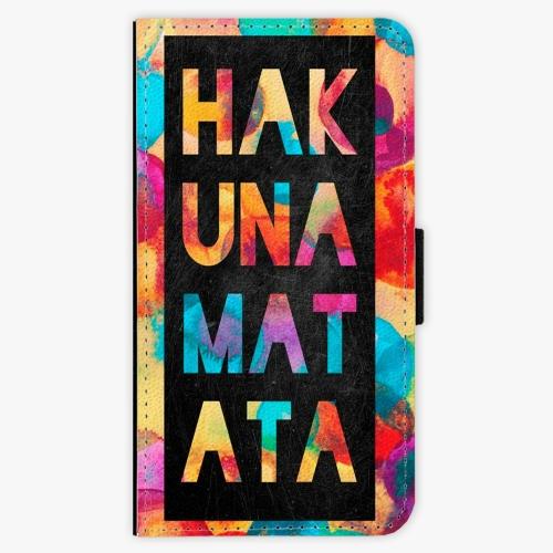 Flipové pouzdro iSaprio - Hakuna Matata 01 - Samsung Galaxy A3