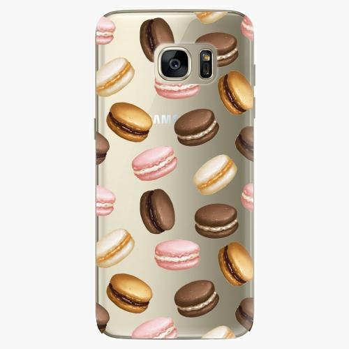 Silikonové pouzdro iSaprio - Macaron Pattern - Samsung Galaxy S7 Edge
