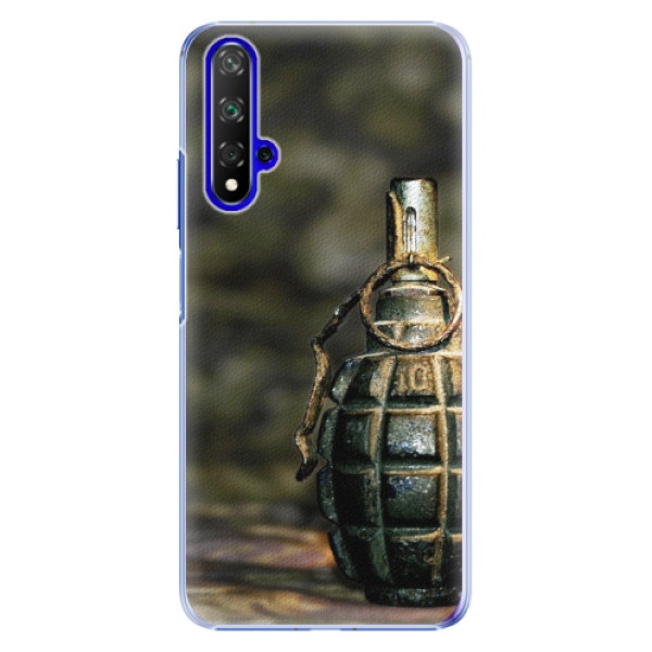 Plastové pouzdro iSaprio - Grenade - Huawei Honor 20
