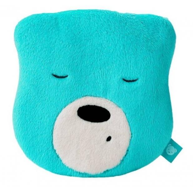 Mini šumící Medvídek - hlava - mátová