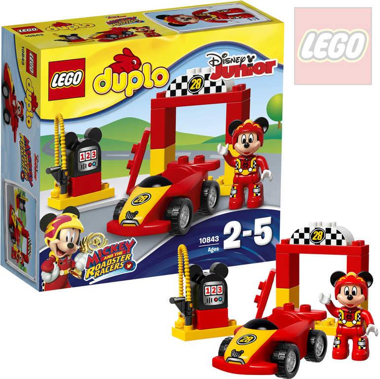 LEGO DUPLO Mickeyho závodní auto 10843