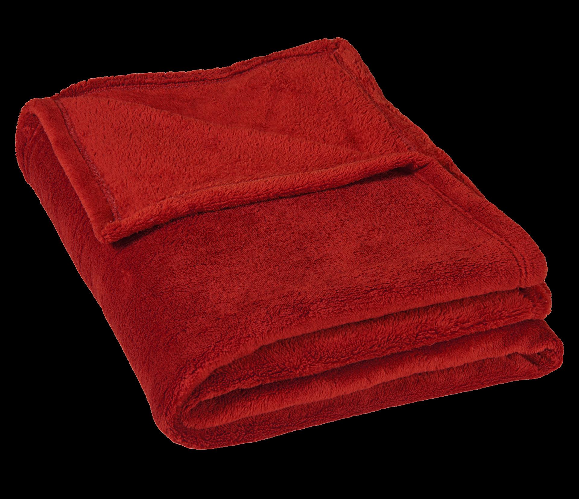 Micro deka jednolůžko 150x200cm vínová 300g/m2