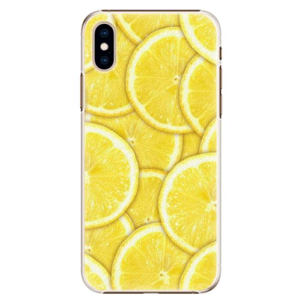 Plastové pouzdro iSaprio - Yellow - iPhone XS