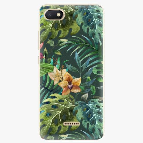 Plastový kryt iSaprio - Tropical Green 02 - Xiaomi Redmi 6A
