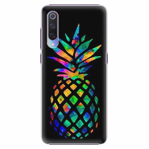 Plastový kryt iSaprio - Rainbow Pineapple - Xiaomi Mi 9