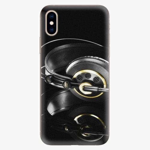 Silikonové pouzdro iSaprio - Headphones 02 - iPhone XS