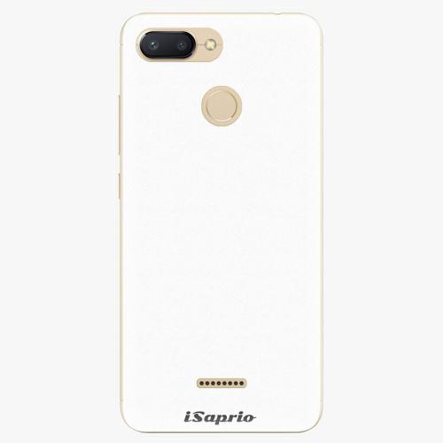 Silikonové pouzdro iSaprio - 4Pure - bílý - Xiaomi Redmi 6