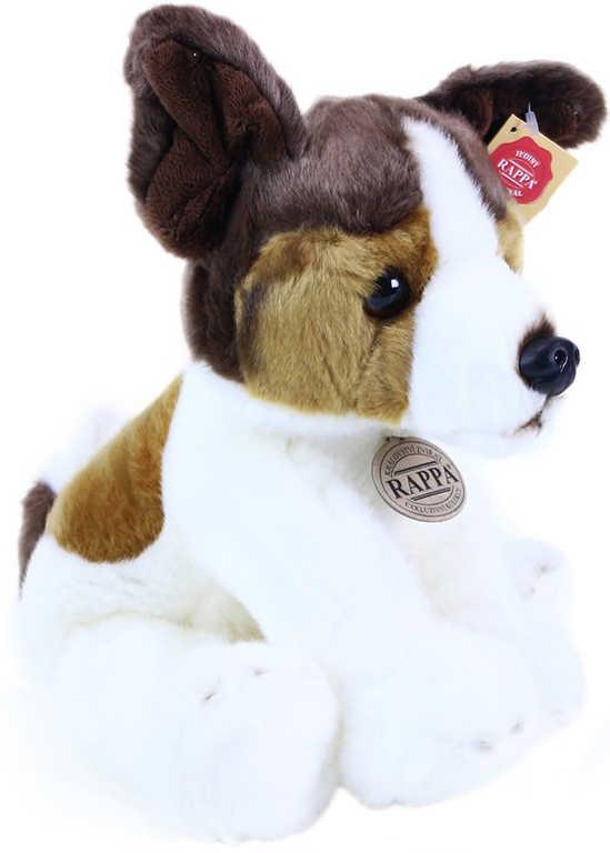 PLYŠ Pes Jack Russel trikolor 30 cm exkluzivní kolekce