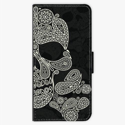 Flipové pouzdro iSaprio - Mayan Skull - Sony Xperia XA