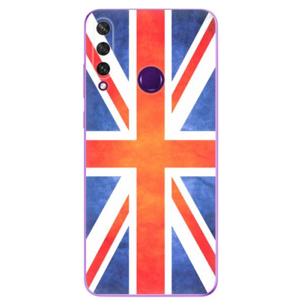 Odolné silikonové pouzdro iSaprio - UK Flag - Huawei Y6p
