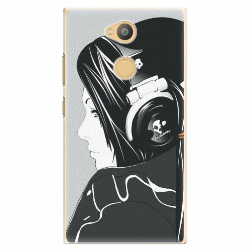 Plastový kryt iSaprio - Headphones - Sony Xperia L2