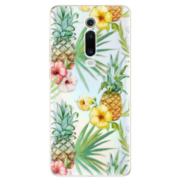 Odolné silikonové pouzdro iSaprio - Pineapple Pattern 02 - Xiaomi Mi 9T Pro