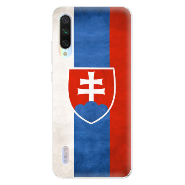 Odolné silikonové pouzdro iSaprio - Slovakia Flag - Xiaomi Mi A3