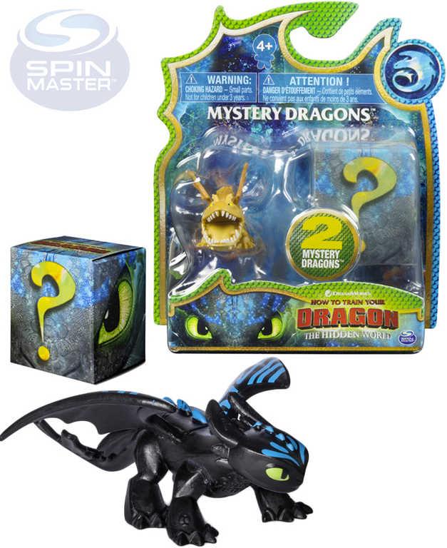SPIN MASTER Drak figurka Jak vycvičit draka 3 mění barvu set 2ks 4 druhy