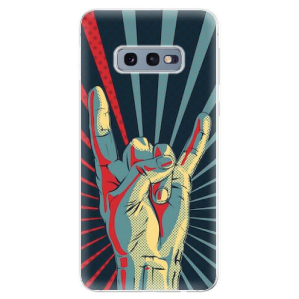 Odolné silikonové pouzdro iSaprio - Rock - Samsung Galaxy S10e