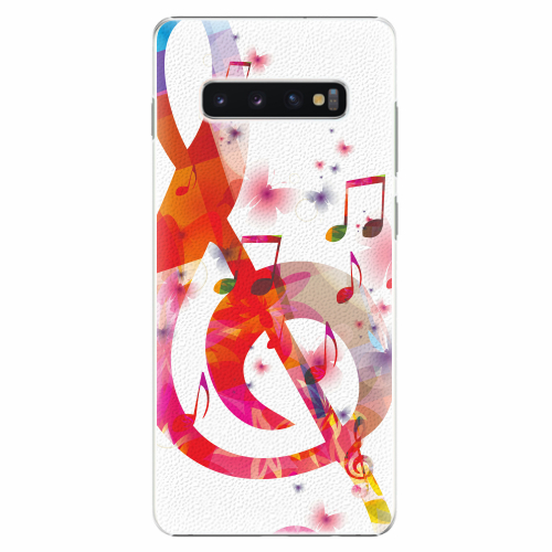 Plastový kryt iSaprio - Love Music - Samsung Galaxy S10+