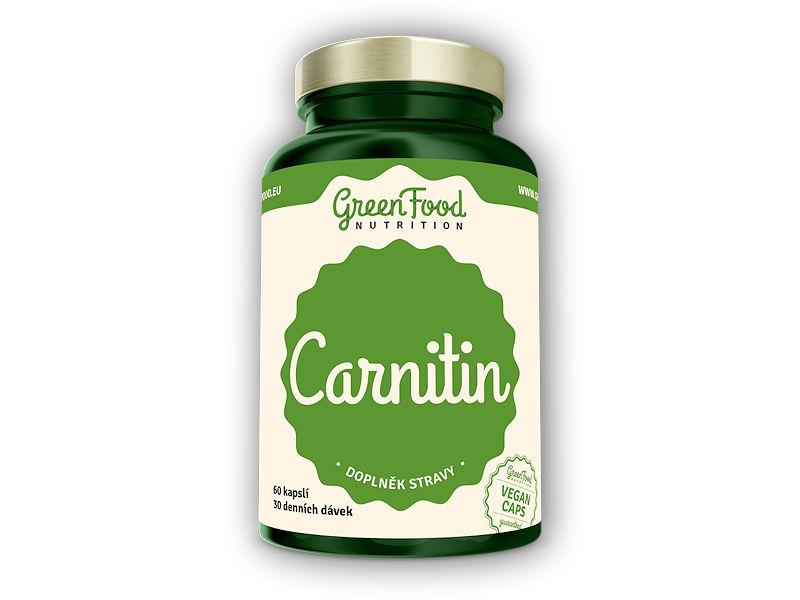 Carnitin 60 vegan kapslí