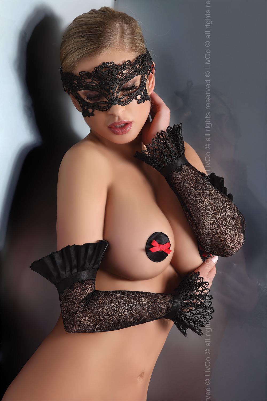 Maska model 84228 Livia Corsetti Fashion - UNI velikost