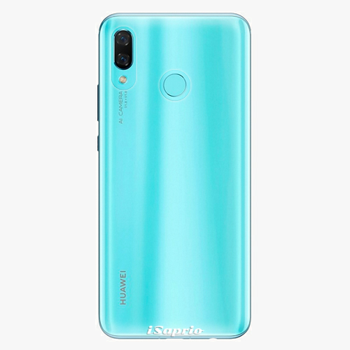 Plastový kryt iSaprio - 4Pure - průhledný matný - Huawei Nova 3