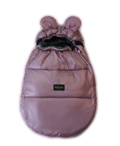 baby-nellys-nepromokavy-fusak-s-ousky-miki-fleece-velvet-90-x-50-cm-pudrova