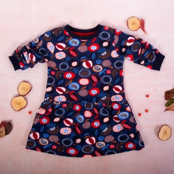 k-baby-divci-bavlnene-saty-ovoce-granatove-vel-110-110