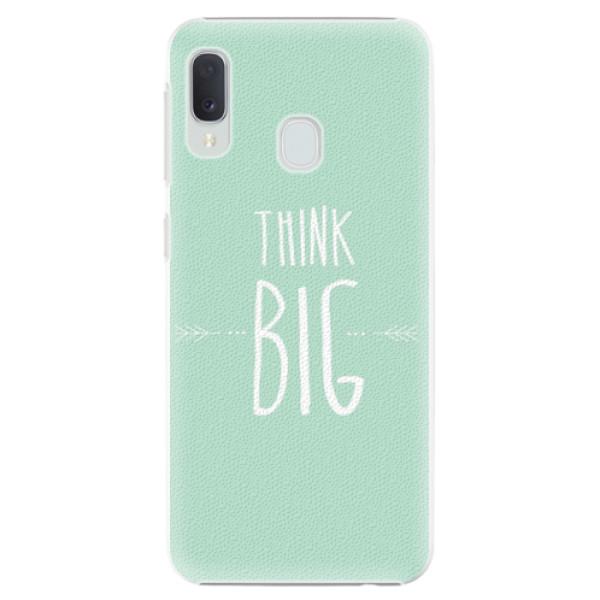 Plastové pouzdro iSaprio - Think Big - Samsung Galaxy A20e
