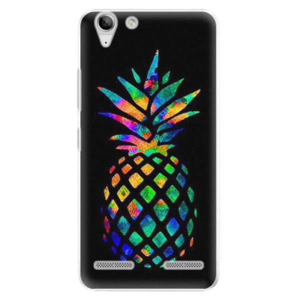 Plastové pouzdro iSaprio - Rainbow Pineapple - Lenovo Vibe K5