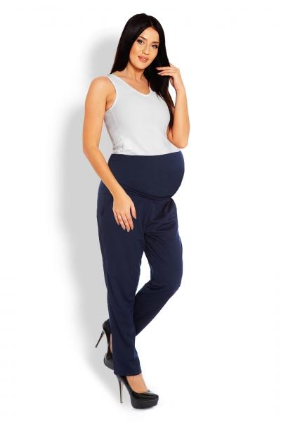 Těhotenské kalhoty/tepláky s vysokým pásem