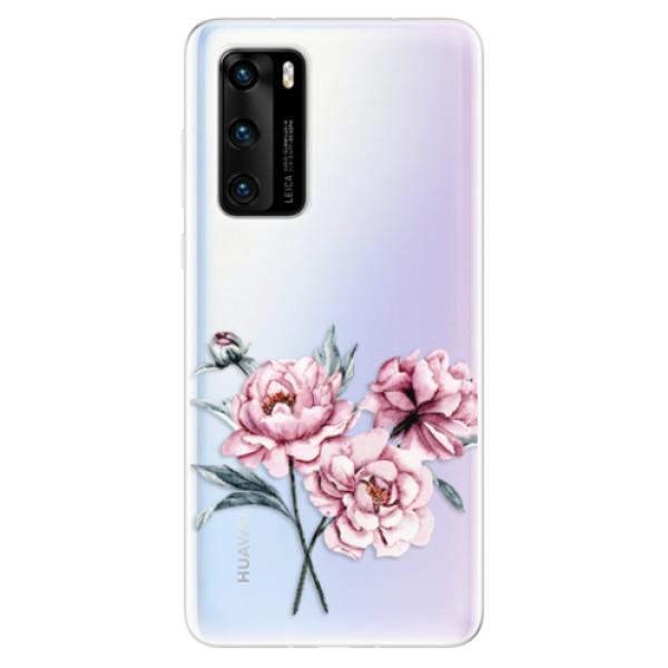 Odolné silikonové pouzdro iSaprio - Poeny - Huawei P40