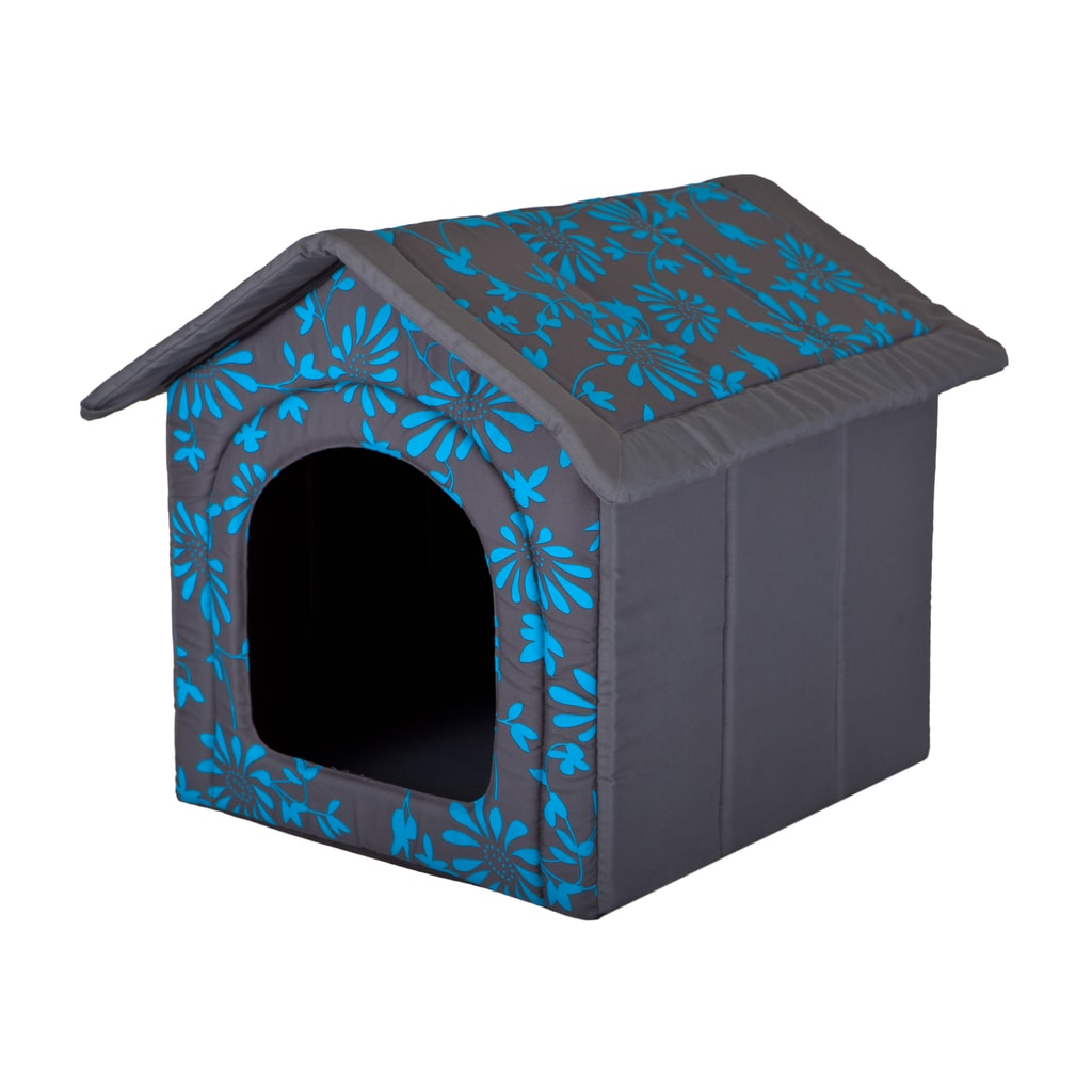 Domeček pro psa Reedog Grey Flower - XS