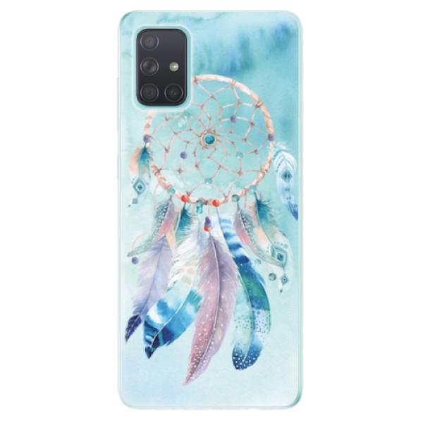 Odolné silikonové pouzdro iSaprio - Dreamcatcher Watercolor - Samsung Galaxy A71
