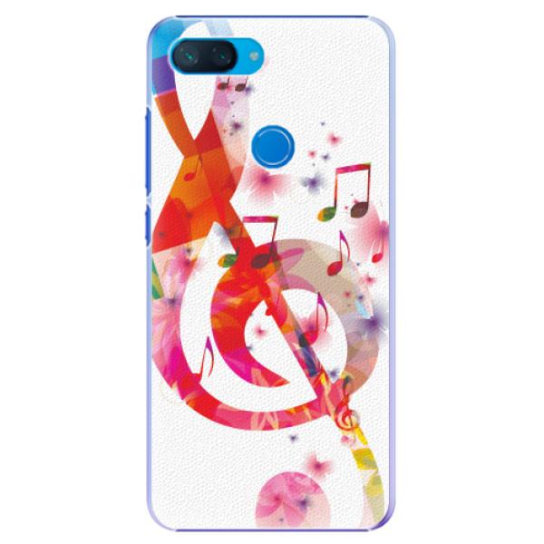 Plastové pouzdro iSaprio - Love Music - Xiaomi Mi 8 Lite