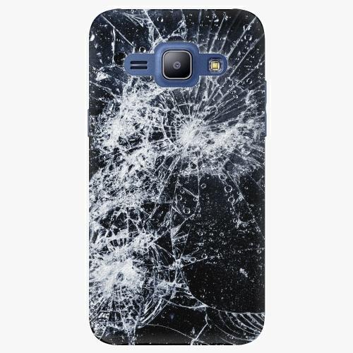 Plastový kryt iSaprio - Cracked - Samsung Galaxy J1