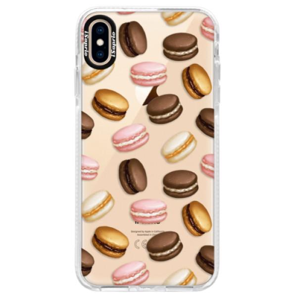 Silikonové pouzdro Bumper iSaprio - Macaron Pattern - iPhone XS Max