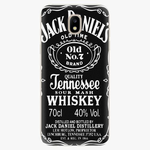 Silikonové pouzdro iSaprio - Jack Daniels - Samsung Galaxy J5 2017