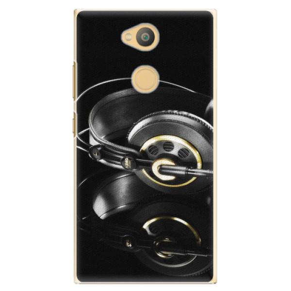 Plastové pouzdro iSaprio - Headphones 02 - Sony Xperia L2