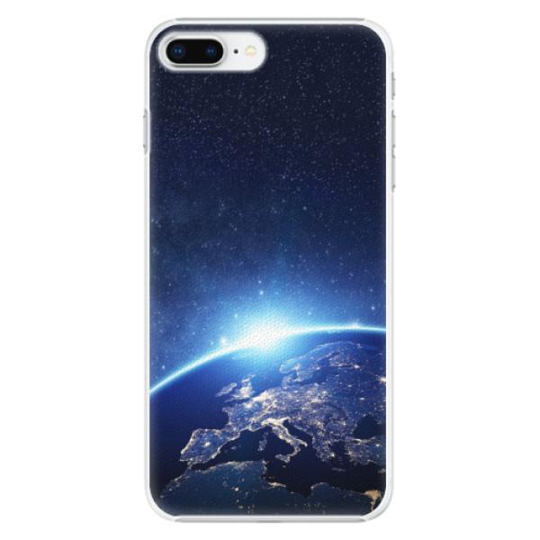 Plastové pouzdro iSaprio - Earth at Night - iPhone 8 Plus
