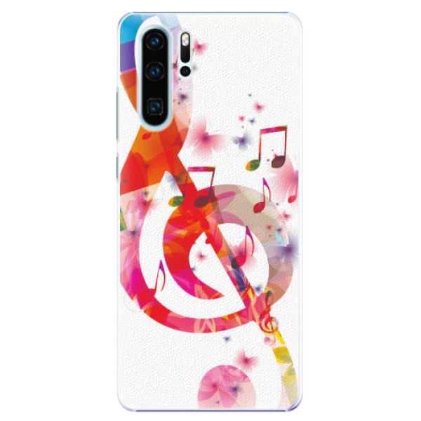 Plastové pouzdro iSaprio - Love Music - Huawei P30 Pro