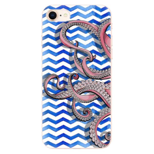 Odolné silikonové pouzdro iSaprio - Octopus - iPhone 8