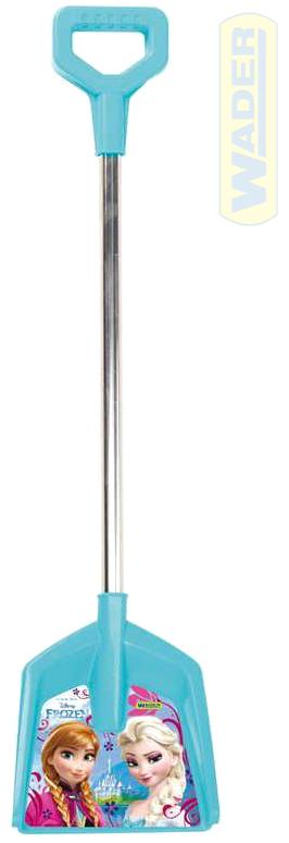 WADER Lopata dětská 67cm Ledové kralovství (Frozen) t-ručka plast 77923