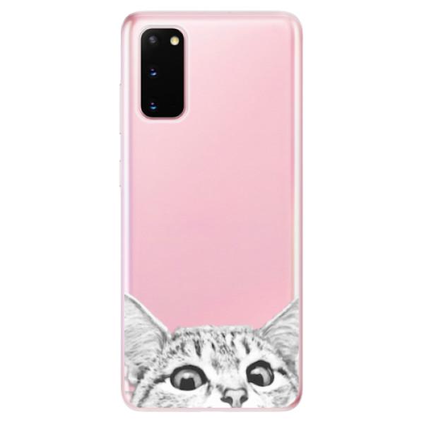 Odolné silikonové pouzdro iSaprio - Cat 02 - Samsung Galaxy S20