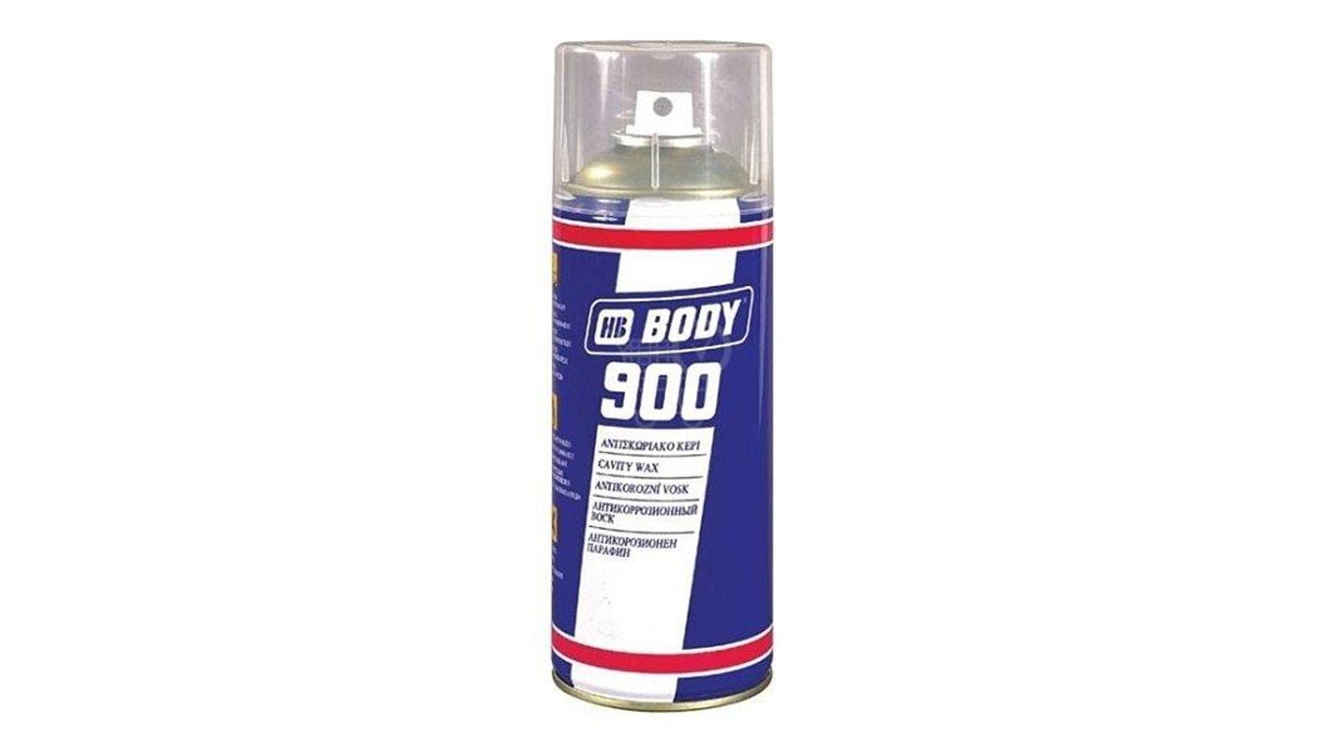 HB BODY 900 cavity wax - sprej na dutiny transparentní 400ml