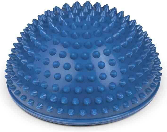 PROFIBABY Polokoule masážní 16cm set 2ks rehabilitační pomůcka 4 barvy