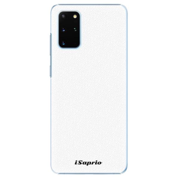 Plastové pouzdro iSaprio - 4Pure - bílý - Samsung Galaxy S20+