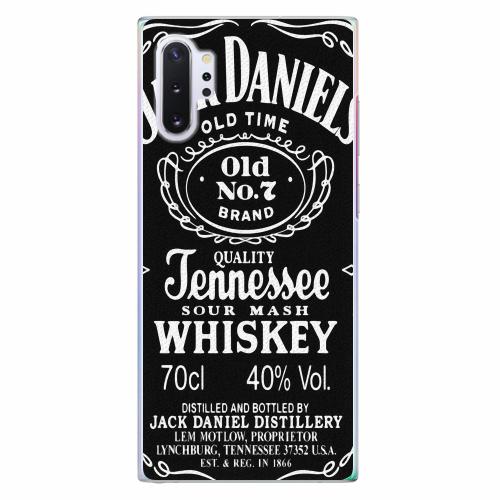 Plastový kryt iSaprio - Jack Daniels - Samsung Galaxy Note 10+