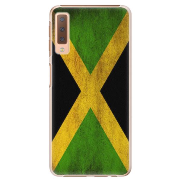 Plastové pouzdro iSaprio - Flag of Jamaica - Samsung Galaxy A7 (2018)