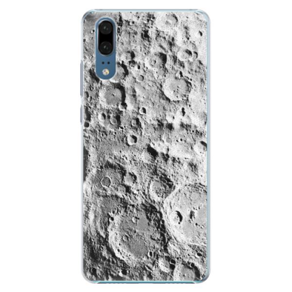 Plastové pouzdro iSaprio - Moon Surface - Huawei P20