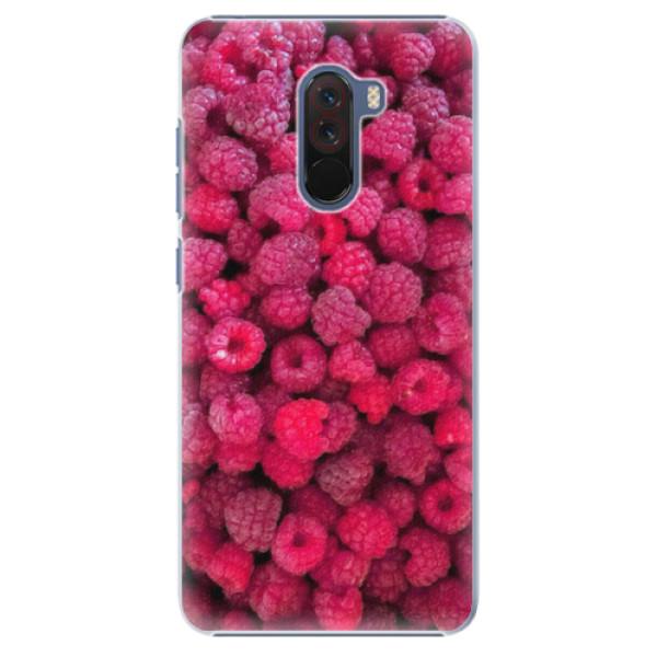 Plastové pouzdro iSaprio - Raspberry - Xiaomi Pocophone F1